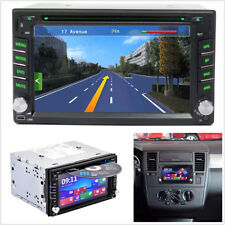 "Bluetooth 6.2"" HD 2Din 7 Colors GPS Navigation Autos Stereo DVD CD Player SD/USB"