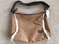 NEW WITH TAGS UGG Australia Large Messenger/purse/handbag