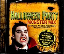 NEW CD // HALLOWEEN PARTY - MONSTER MIX - 17 TRACKS - MONSTER MASH + GHOSTBUSTER