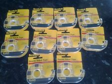 10 Scotch Double Sided clear Tape 12mm X 11.4m Ideal for arts and crafts
