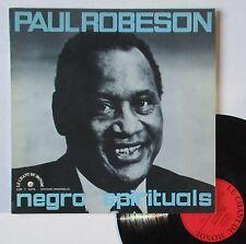 """Vinyle 33T Paul Robeson """"Negro spirituals"""""""