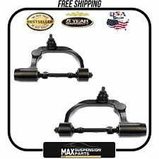 SET OF 2 Front Upper Control Arms w/Ball Joint $5 YEARS WARRANTY$