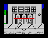 Sinclair ZX Spectrum Game - GHOSTBUSTERS - Ricochet - Tested & Working - Classic