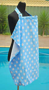 GREAT SIZE than normal  -Breastfeeding/Bottle feeding cover/ cape/ apron