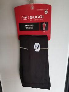 Sugoi Midzero Arm Warmer XL Black Unisex Fitted