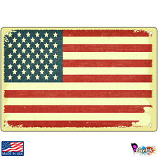 American Flag Vintage Decorative Signs & Plaques
