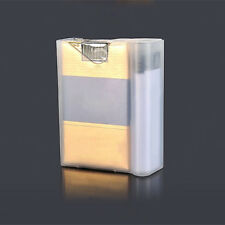 1 Pack Transparent Portable Cigarette Cigarette Lighter Box Case  Soft Plastic P