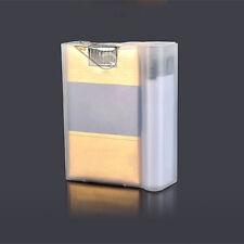 Zigaretten Box Transparent Cigarette Feuerzeug Box Holder Zigarettenetui