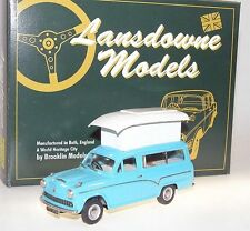 Lansdowne/Brooklin LDM 100a, 1957 Austin A60 Suntor Camper Van, Turqoise, 1/43