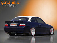 BMW 3 Series E36 Rear Diffuser / Undertray for Racing, Performance, Aero V6