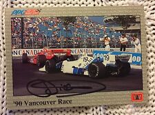 Signed Trading Card Indy 500 Car Indianapolis Didier Theys Autographed