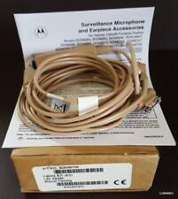 Motorola BDN6670A Surveillance Microphone & Earpiece x‑Loud 3‑Wire Kit Jedi