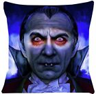 Dracula Pillowcase Halloween Throw Pillow (Pillowcase Only)