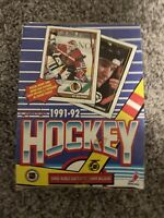 O PEE CHEE  1991-92 OPC Hockey Trading Cards Wax Box