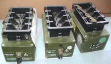 Bundeswehr NiCd batería cargador 230/24-12vdc 4x batería radio sem 52 Charger