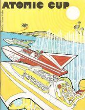1971 Atomic Cup Tri-City Water Follies Hydroplane Race Program