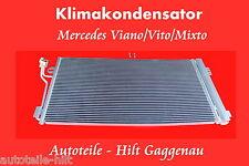NEU Klima Kondensator mit Trockner MERCEDES VIANO VITO 639 2008-2010 Klimaautom.