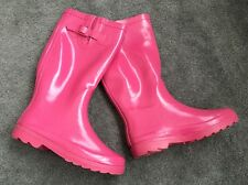 PINK RAIN BOOTS Sz 8 Sunville FREE GIFT SALE
