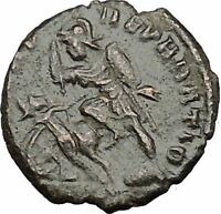 CONSTANTIUS II Constantine the Great son Ancient Roman Coin Battle Horse i50691