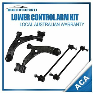 Front Lower Control Arm W/ Sway Bar Link Assemblies fit for Mazda 3 BK 2004~2009