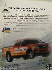 2004 Ford 150 Original Print Ad Homestead Miami Speedway-NASCAR-8.5 x 10.5""