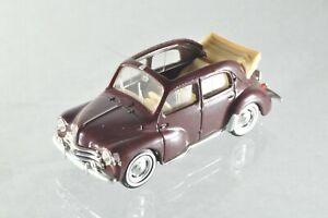 JQ009 Solido 1:43 Renault 4CV Découvrable C/-