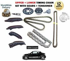 Per BMW MINI Coupe Cooper SD 2.0 D R58 2011 -- & GT UPPER + LOWER TIMING CHAIN KIT