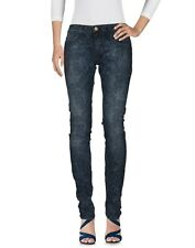 PINKO XENON Skinny Drill Superstrech Jeans Leggings Pantaloni Bianco Exclusive Gogo