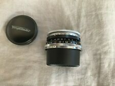 Voigtlander Skopar SC 35mm f/2.5 for Nikon S Rangefinder and Contax LENS
