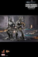 LAYBY  Hot Toys 1/6 CHITAURI FOOTSOLDIER & COMMANDER SET DISCOUNTED  $529.99