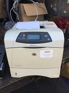 HP LaserJet 4240N Q7785A Laser Printer Page Count 112319