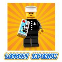 LEGO Minifigure Series 18 Classic Police Officer - minifig col329 RARE FREE POST