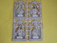 1x Poesiebilder Maria Jesus Glaube 366 GLIMMER Kirche Glanzbilder Oblaten
