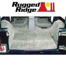 Rugged Ridge Deluxe Carpet Kit 6 pc. 97-06 Jeep Wrangler TJ 13696.09 Grey