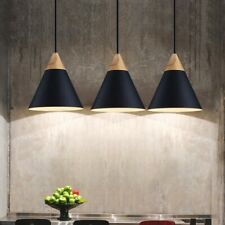 3X Black Pendant Light Kitchen Lamp Bar Ceiling Light Bedroom Chandelier Lights