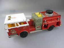 MAJORETTE: pompe a incendie pompiers, 2 choix (ssk4)