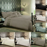 Luxury Duvet Cover Set Single Double Super King Size Pleated Bedding Set Quilt