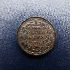 More details for 1878 victoria third farthing recieve the coin pictured free uk p&p