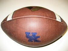 Kentucky Wildcats GAME USED Nike Vapor 1 One Football - University Game Ball