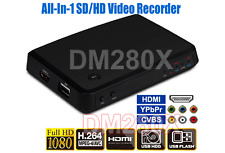 All-In-1 HDMI DVI HD Component Composite RCA DVR Video Recorder W/HDMI Out