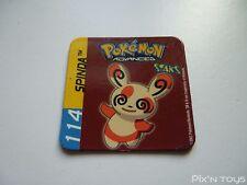 Magnet Staks Pokémon Advanced / 114 Spinda / Panini 2003 [ Neuf ]