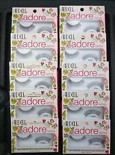 10 Pairs Black Chloe ARDELL FALSE EYELASHES Fake Lashes Clear Band Lot Pack f2