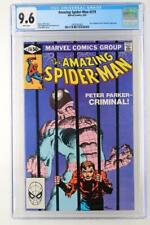 Amazing Spider-Man #219 - CGC 9.6 NM+ MARVEL 1981 - Grey Gargoyle App