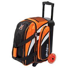 KR Strikeforce Cruiser Smooth Orange/White/Black 2 Ball Roller Bowling Bag