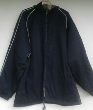 EUC Mens Champion XXXL Coat Navy Hooded Jacket Nylon Lightweight All Categories