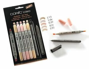 Copic Ciao 5+1 Marker Sets