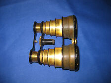 Rare Antique Victorian Multiple Draw Opera & Ballet Glasses Collapsed From 1870s