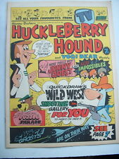 VINTAGE 1967 HUCKLEBERRY HOUND & YOGI BEAR COMIC with SPACE GHOSTS & JONNY QUEST