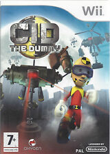 CID THE DUMMY for Nintendo Wii - with box & manual - PAL