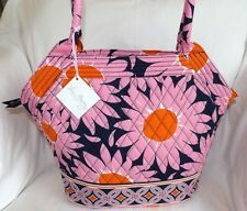 VERA BRADLEY PURSE - ANGLE TOTE - HAND BAG - LOVES ME PINK - BRAND NEW WITH TAGS